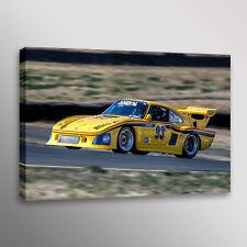 Vintage 1976 Porsche 935 K3 Automotive Car Racecar Photo Art Canvas Print