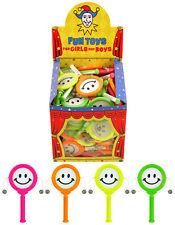 Mini Smiley mano tambores Sonajero Sonido Divertido Niños Relleno Bolsa Fiesta Juguete Niños Botín