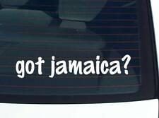 got jamaica? COUNTRY FUNNY DECAL STICKER ART WALL CAR CUTE