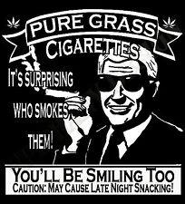 Weed Marijuana T-Shirt Pure Grass Cannabis High Buds Pot Bong Dope verrückt witzig