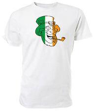 Irish Flag Leprechaun T shirt - Choice of size & colours.