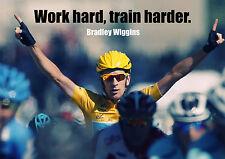 Bradley Wiggins 6 - Failure - Important Motivation Determination Poster Cyclist