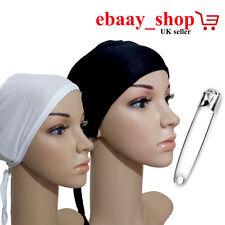 Under Scarf Cap Hat Bone Bonnet Hijab Ninja Islamic Neck Cover Muslim Hijab Cap