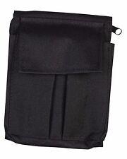 A6 kombat imperméable entièrement zippée notebook holder
