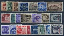 1949 Trieste A annata completa 22 val nuovi ** AMG FTT