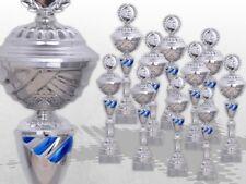 Pokalserie Kansas große Pokale mit Gravur günstig kaufen blau grün rot - silber