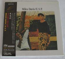 MILES DAVIS - E.S.P. JAPAN MINI LP CD NEU RAR! SRCS-9709