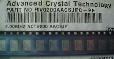 ACT RV0200AACSJPC-PF ACT9200 2.00 MHz 100ppm 5V -10+70 SPXO SMD OSCILLATOR