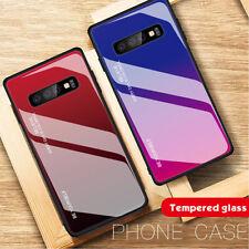 Handy Hülle Samsung Galaxy S20 S10 S9 Schutz Case Slim Cover 9H Glas Panzerfolie