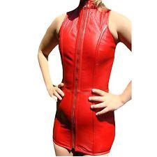 Korsett Kleid ECHT LEDER Lederkorsett Hüftlang Vollbrust Ledercorsage