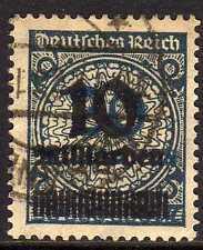 Reich 1923 MI 336Awb signed INFLA  CANC  VF Scarce!