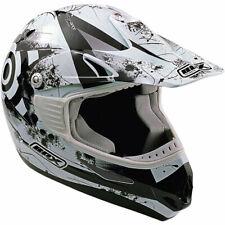 Box MX-5 Target Motorcycle Motorbike Motocross Helmet - Black