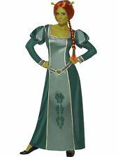 Fiona Ladies Fancy Dress Costume Outfit Adult Licensed Shrek Medieval Princess