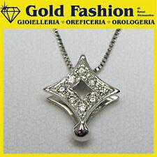 Collana oro con diamante ct. 008  - cod. GC005