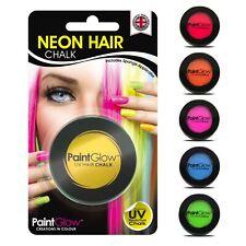 Neon UV Hair Chalk Temporary Colour Dye Halloween Fancy Dress Party Rave