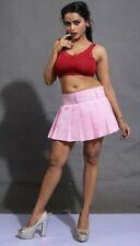 Kilt Tartan Mini Skirt Women's Short High Waist Pink Bubblegum Pleated Skirts
