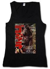 Godzilla Asia II da donna Tank Top Giappone goijra Tokyo Nippon King Kong Monster