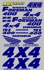 Sticker Kit Decals for TRX 400 Foreman Fender Tank Emblems Graphics Kit