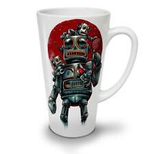 Crazy ROBOT MACCHINA Nuovo White Tea Latte Macchiato caffè tazza 12 17 OZ (ca. 481.93 g) | wellcoda