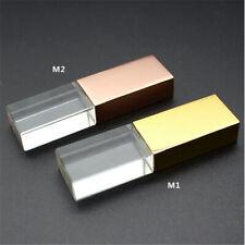 Rose Gold Crystal USB 3.0 Flash Drive Customize Studio Memory Stick Wedding Gift