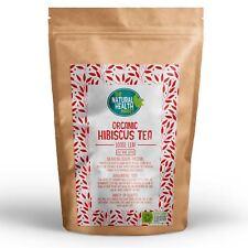 Organic Hibiscus Tea • Loose Leaf Herbal Tea • Dried Flowers • 25g 50g 100g 200g