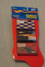 Hot Wheels  Christmas Kringle's Cruisers  stocking set