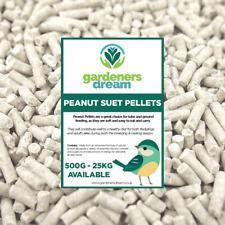 GardenersDream Peanut Suet Pellets - High Energy Feed Wild Bird Garden Food