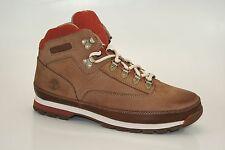 Timberland Botas de montaña Euro Hiker Cuero Zapatos Hombre Senderismo Nuevo