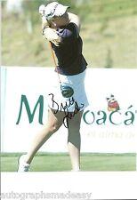 BRITTANY LINCICOME LPGA STAR SIGNED 8X10 PHOTO W/COA