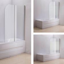 Duschabtrennung Badewanne ESG Sicherheitsglas Nano Duschwand Badewannenfaltwand