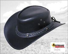 Lederhut Western Cowboy FRISCO NERO, TG S 54*55, Scippis cavaliere CAPPELLO