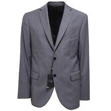 3347Q giacca uomo TOLLEGNO 1900 SLIM FIT fresco lana blu/grigio jacket men