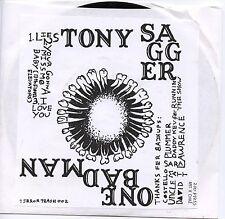"TONY SAGGER One Bad Man 7"" Lies / Miss Me 13th Floor Elevators king louie goner"