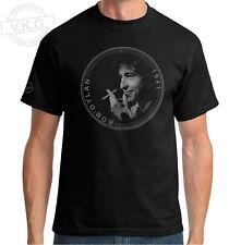 Bob Dylan Cool Coin T shirt by V.K.G.