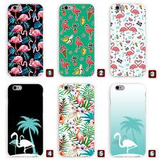 Premium Handyhülle 'Flamingos' für Apple iPhone | Hardcase / Tropical / Flamingo