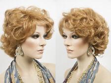 Light Blonde Wig Medium Length Marilyn Monroe Harlow Wig