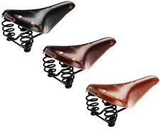 Brooks FLYER SPECIAL fahrrad-ledersattel con sprungfedern, negro / marrón/MIEL