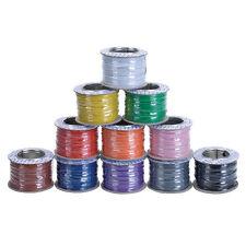 7/0.2 attrezzatura filo UK fabbricati in scatola conduttori di rame 11 COLORI MODELLI