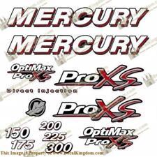 Mercury 150-300hp Optimax ProXS Decal Kit
