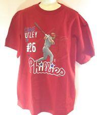 NEW Kids Youth Boys Nike Philadelphia Phillies Chase Utley #26 Photo MLB T-Shirt