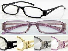 L5 TR90 plástico de memoria de Moda Súper Gafas de Lectura/Pequeño Marco/Cut-Out estilo