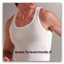 Canottiera uomo Liabel spalla larga, esterno lana interno cotone art 5121-223 SL