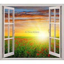 Adesivo finestra decocrazione Papaveri ref 5437 5437