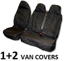 VAN SEAT COVER SET 1 Single & 1 Double front bench Universal Water Resistant