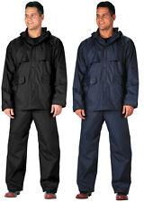 Rain Suit Lightweight Durable Waterproof Jacket Pants Microlite 2 Piece R3770