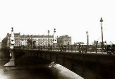 Lyon Pont Gallieni - Pub Picon - Repro tirage photo ancienne début XXe siècle