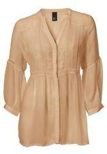 B. C. . BEST Connections Heine blusa bordado Túnica Camiseta larga mujer 34-44