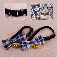 Adjustable New Pet Puppy Cat Dog Necktie Bowknot Bow Tie Collar Christmas Bells