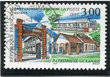 TIMBRE FRANCE OBLITERE N° 3048 PATRIMOINE GUYANAIS / Photo non contractuelle