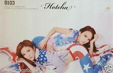 "HOTCHA ""0103"" HONG KONG PROMO POSTER - Cantopop Music, Regen, Crystal, Winkie"